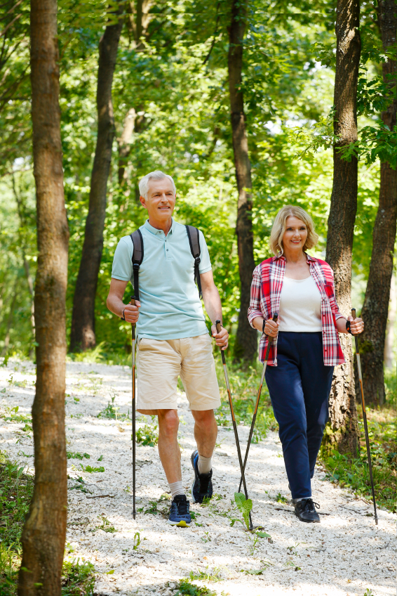Health Benefits Of Nordic Walking The Oldish