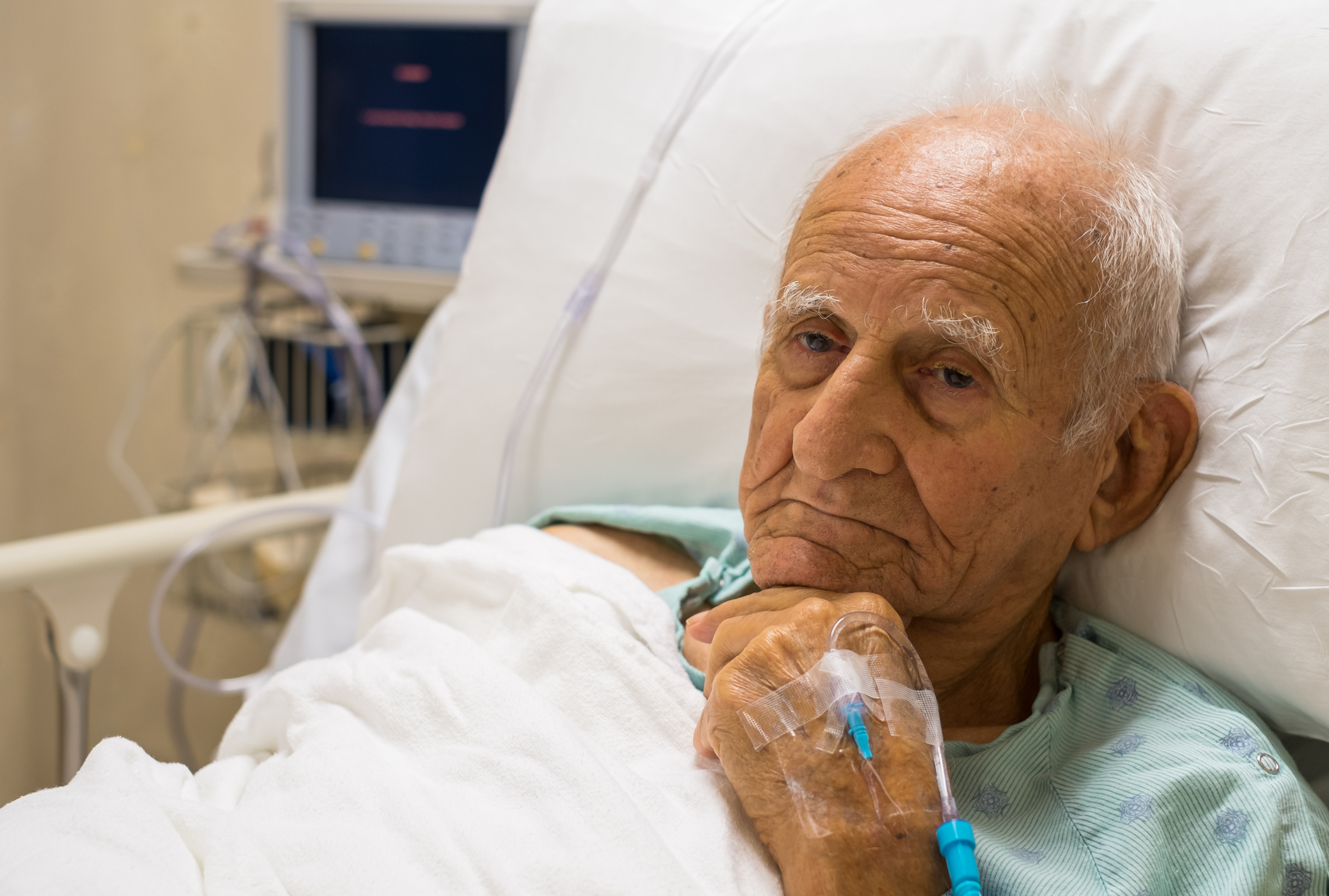 Delirium Common Among Hospitalized Seniors | The Oldish